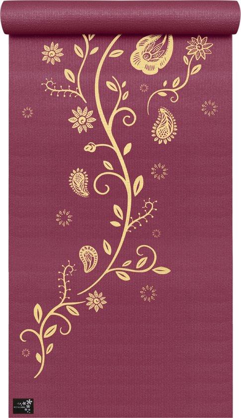 Yogamat basic Indian Flower Fitnessmat YOGISTAR
