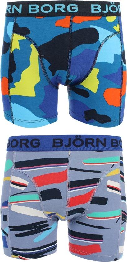9d404cf3ec3fce Bjorn Borg Shorts BB Blocks   BB Stroke - Ondergoed - Heren - 2 Pack -