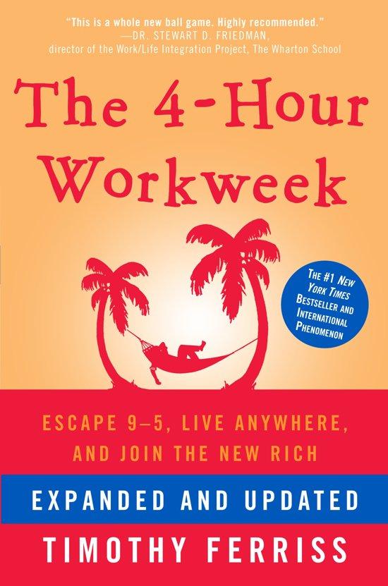 Boek cover The 4-Hour Work Week van Timothy Ferriss (Hardcover)