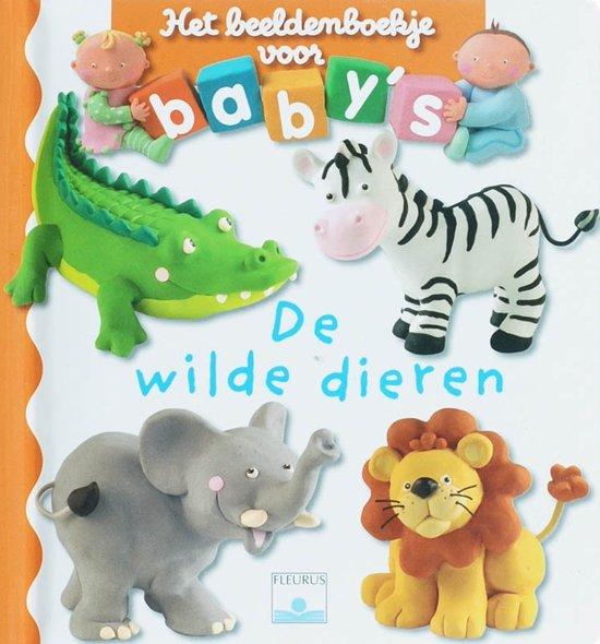 BEELDENBOEKJE VOOR BABYS Beeldenboekje voor baby De wilde dieren