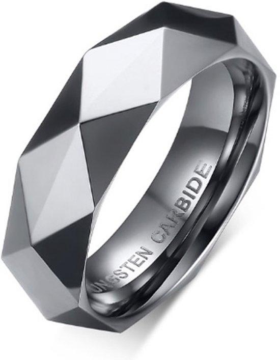 Cilla Jewels Wolfraam ring Zilverkleurig-16mm