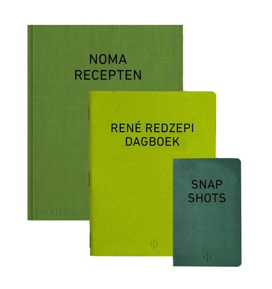 Boek cover Noma: A work in progress - recepten, dagboek en snapshots van René Redzepi. Een kijkje achter de schermen bij Noma, het beste restaurant ter wereld van René Redzepi (Paperback)