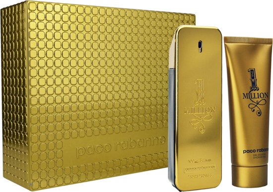Paco Rabanne 1 Million - Geschenkset Eau de toilette 100 ml + Douchegel 100 ml