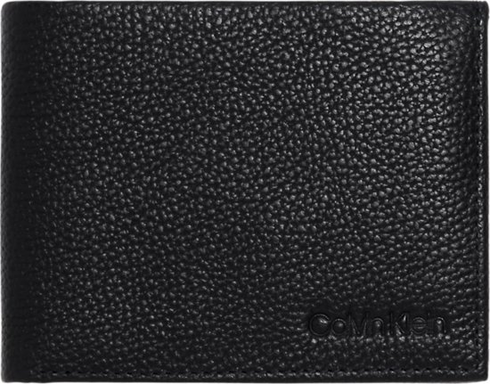 3e62b4e9ba5 Calvin Klein - Essential leather - 10CC coin pass - heren portemonnee - navy