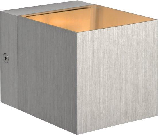 Lucide DEVI - Wandlamp - G9 - Mat chroom