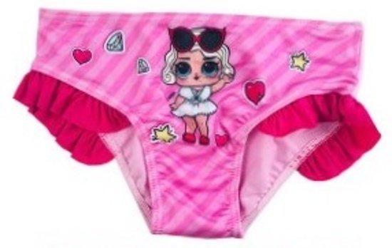 LOL Surprise! Zwembroek kl roze-fushia mt 110 cm