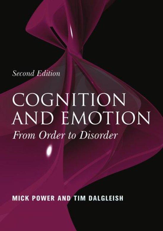 relationship between cognition emotion and behavior