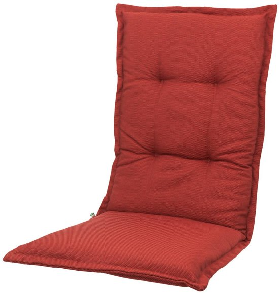 Tuinkussen Hoge rug Kopu® Manchester Red 125x50 cm - Met opbergtas