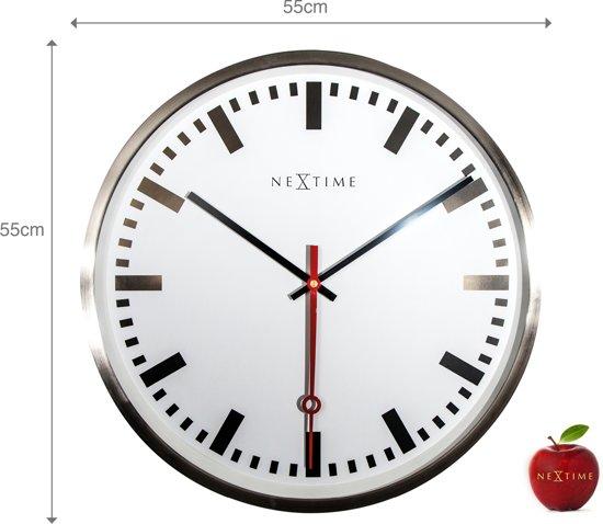 NeXtime Super Station Wandklok à 55 cm