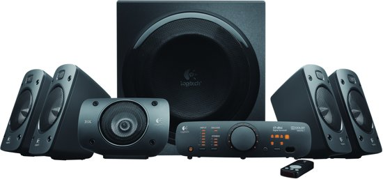 Logitech Z906 - 5.1 Speakerset