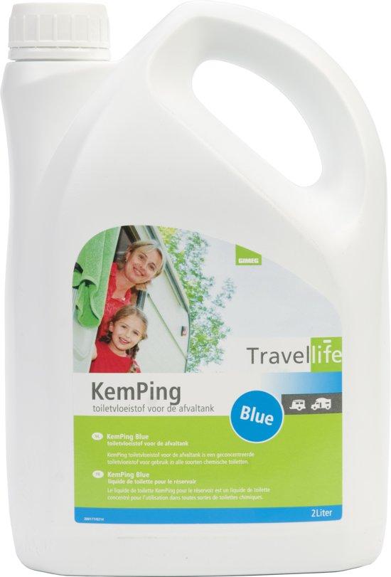 Travellife Kemping Blue - Toiletvloeistof - 2 liter
