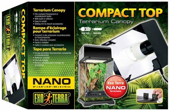 Exo Terra Terrarium verlichting Compact top - 45 x 9 x 20cm