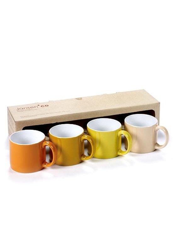 Jansen+co My Mug Medium Sunrise Mokken 0,24 L - 4 st.