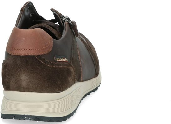 Breed By Mephisto Sneaker Suede Herve Mobils Lederen Donkerbruin extra q8vdwS