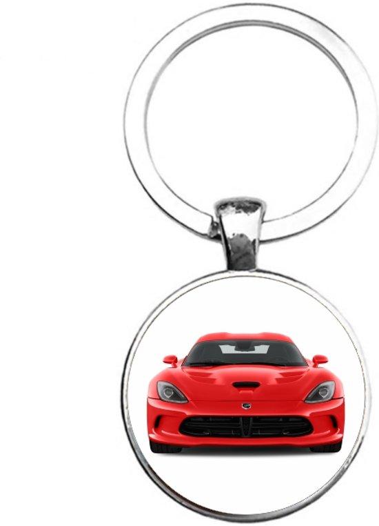 Sleutelhanger Glas - Dodge Viper