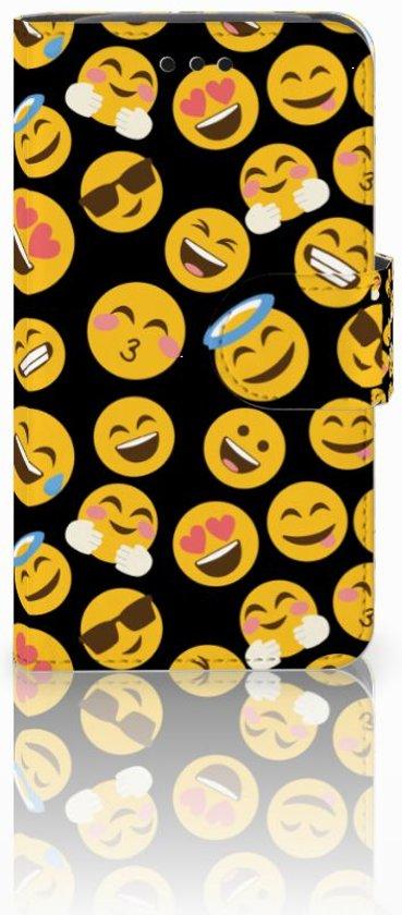 Samsung Galaxy Core i8260 Bookcase hoesje Design Emoji