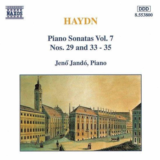 Haydn: Piano Sonatas Vol 7 / Jeno Jando