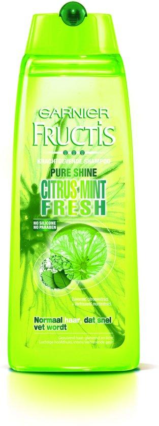 Garnier Fructis Vita Boost Fresh - Shampoo 250ml - Normaal Haar dat Snel Vet Wordt