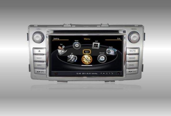 Audiovolt Autoradio 2-din navigatie Toyota Hilux 2012-