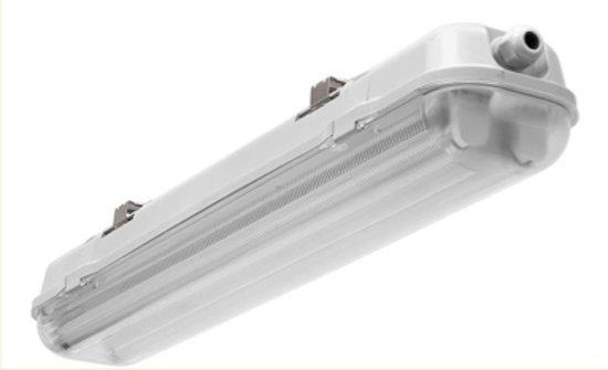 Waterdichte dubbele TL armatuur IP65 2x LED TL BUIS 150cm - 0