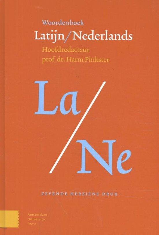 Boek cover Woordenboek Latijn / Nederlands van Harm Pinkster (Hardcover)