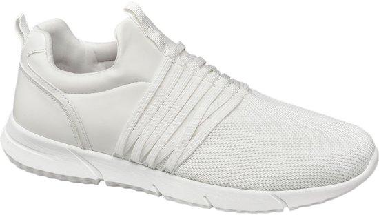 44 Sneaker Lightweight Vetersluiting Heren Venice Maat Witte qHPxYPF0