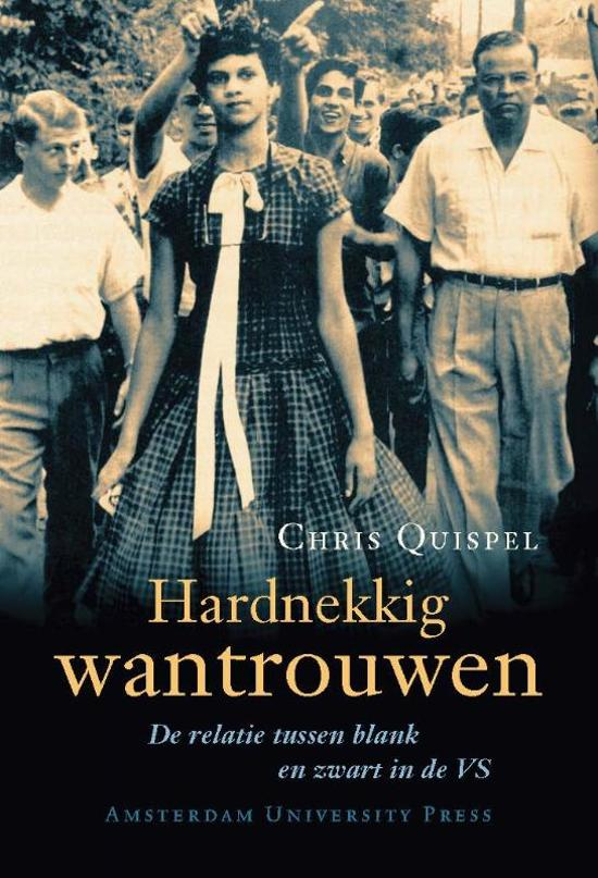 Cover van het boek 'Hardnekkig wantrouwen / druk 1' van C. Quispel