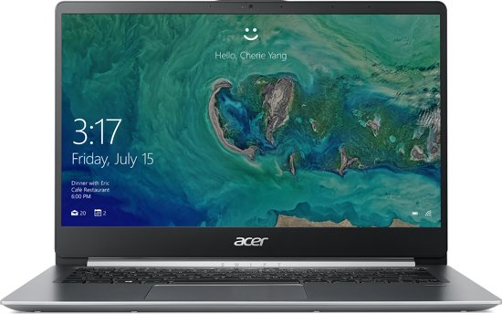 Acer Swift 1 SF114-32-C7TK - Laptop - 14 Inch - Azerty