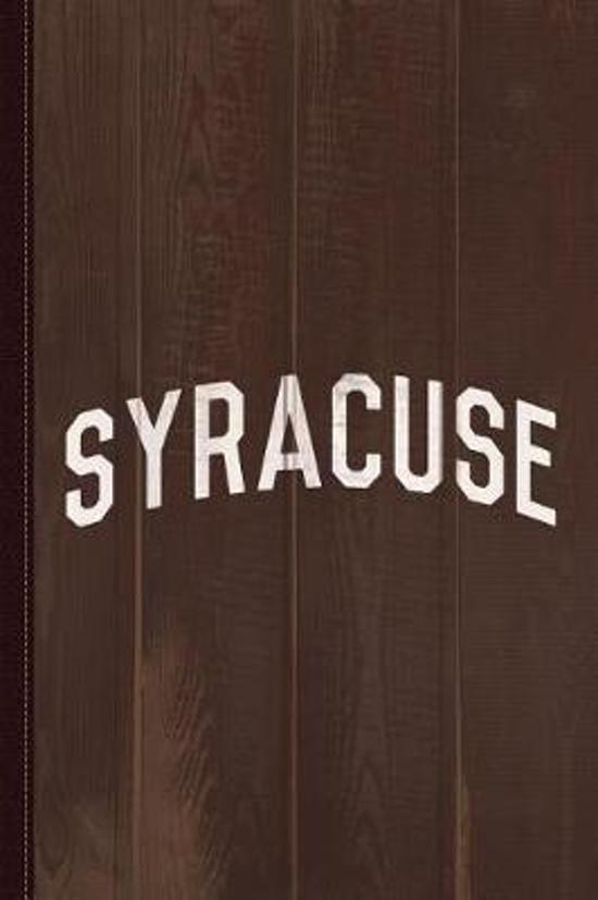 Syracuse Journal Notebook