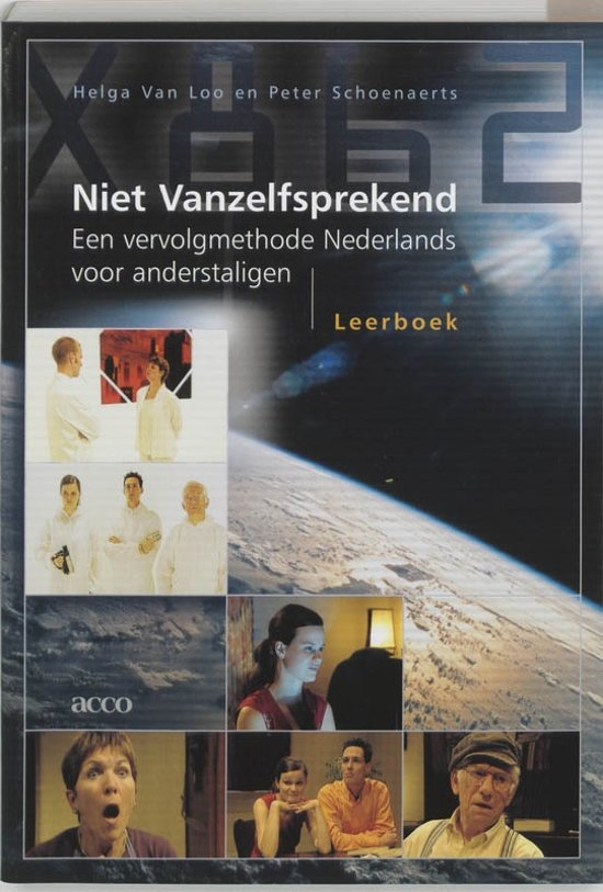 Boek cover Niet vanzelfsprekend Leerboek van Helga van Loo (Paperback)