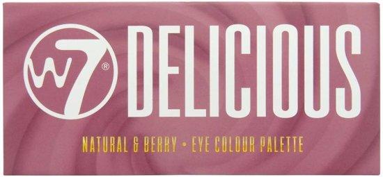 W7 Delicious Nautral & Berry Oogschaduwpalette -14 kleuren