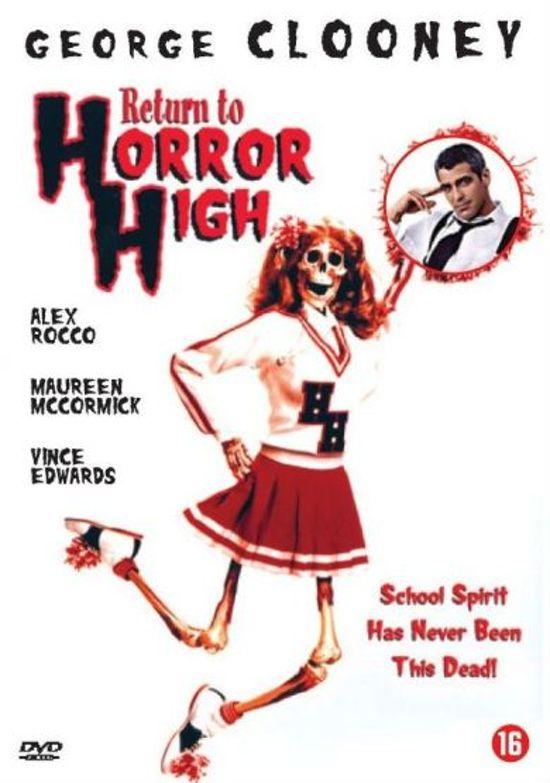 Cover van de film 'Return To Horror High'