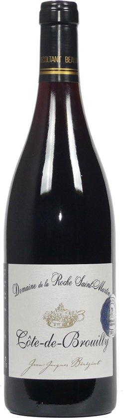 Domaine de la Roche Saint Martin gamay Rode wijn - 6 x 75 cl