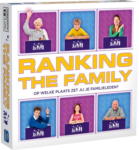 Ranking The Family - Borspel - Onthullend Familiespel