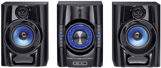 Mac Audio MPS 501 - 200 Watt high-power hifi-systeem