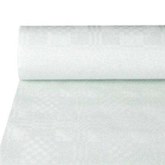 Papstar Damast Tafelkleed op rol - 50 x 1 M - dikte 40 g/m2 pak a 1 rol