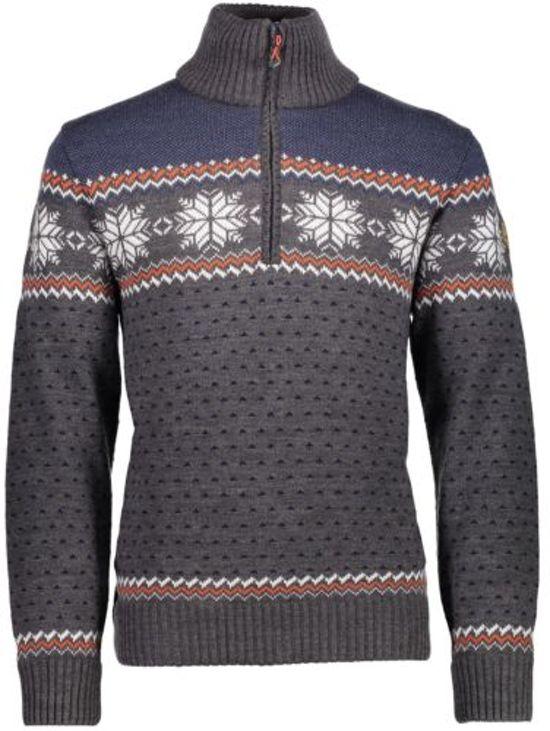 bol | cmp knitted pullover trui - heren - noorse trui
