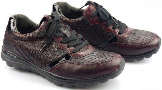 36 Wijnroodrood Gabor Dames 968 13 Sneaker Rollingsoft 5 Maat Lederen 40 Voor 11q5678x