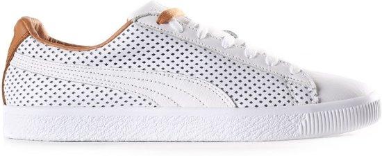 0e70e0f82e Puma Sneakers Clyde Colorblock 2 Heren Wit/bruin Maat 42,5