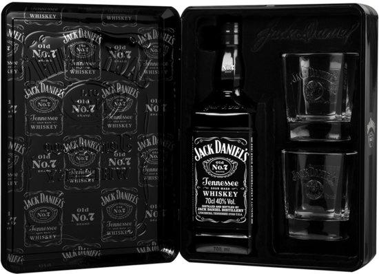 Bolcom Jack Daniels Cadeauverpakking In Tin 1 X 70 Cl