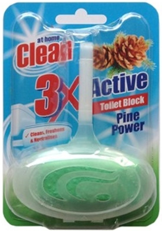 At Home Clean Toiletblok 40gr Pine