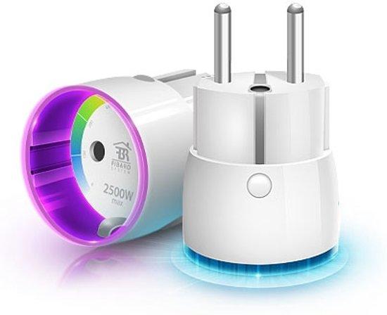 FIBARO Wall Plug Type F - Slimme Stekker (werkt ook met Toon)
