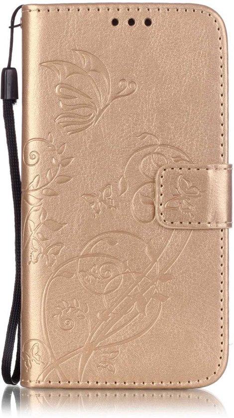 bol | shop4 - samsung galaxy s5 neo hoesje - wallet case vlinder