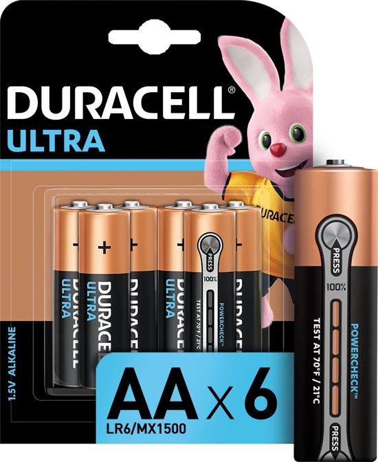 Duracell AA Ultra Power - Alkaline Batterijen - 6 stuks