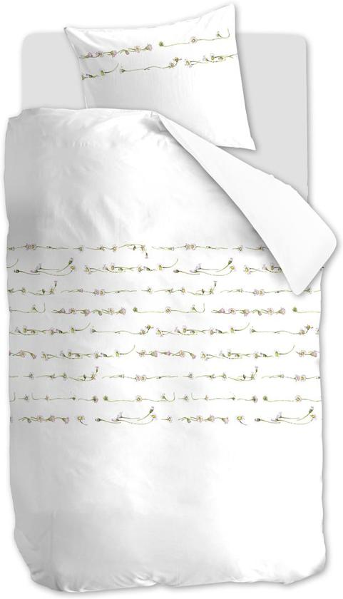Marjolein Bastin Madeliefje - Dekbedovertrek - Eenpersoons - 140x200/220 cm + 1 kussensloop 60x70 cm - White