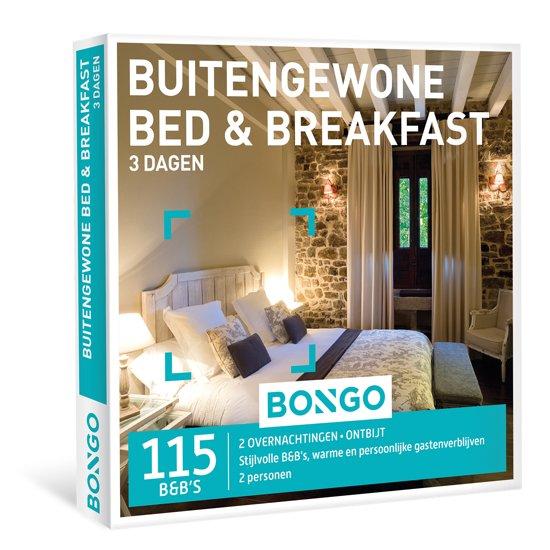 BONGO - Buitengewone Bed & Breakfast - Cadeaubon