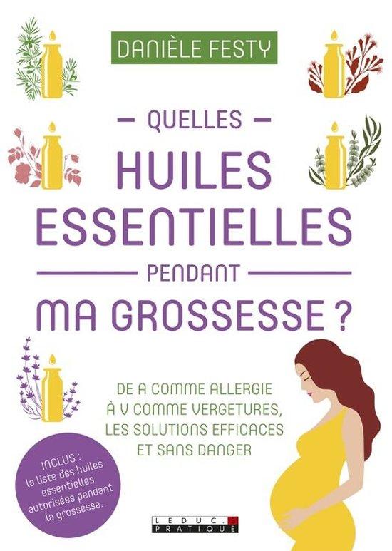 Afbeelding van Quelles huiles essentielles pendant ma grossesse ?