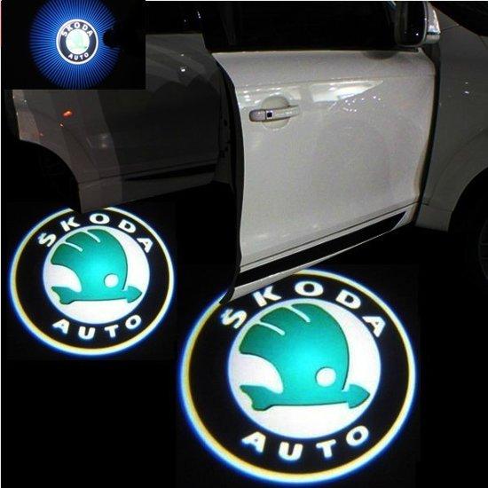 Bol Com Set Van 2x Auto Logo Led Light Deur Projectors I Inclusief