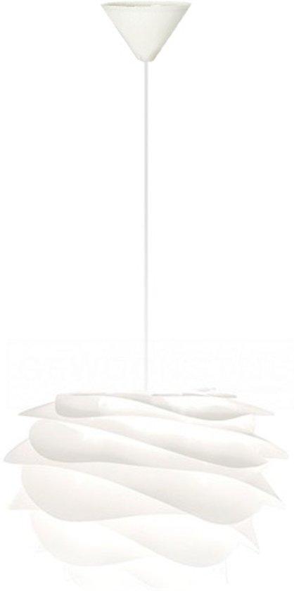Carmina Wit - Mini Ø 34 cm - Hanglamp - Koordset wit