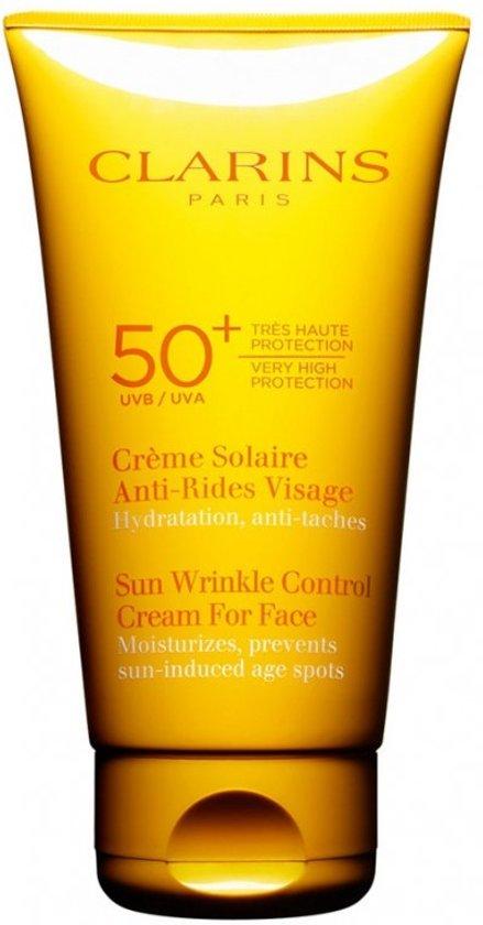 Clarins Creme Solaire Anti-Rides Visage Zonnecreme - SPF 50+  - 75 ml